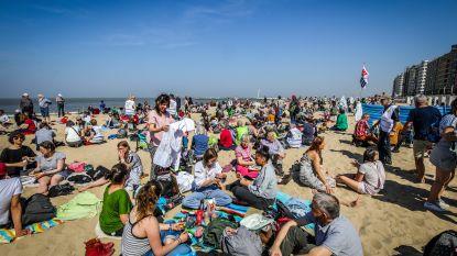 Na de klimaatbetogingen, nu een picknick: zo'n 600 activisten palmen stukje strand in voor beter klimaat