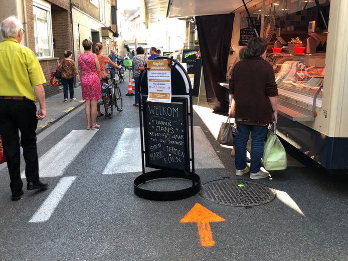 De marktkramers van de dinsdagmarkt nemen deel aan de Week van de Markt.