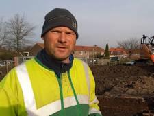 Wethouder baalt van archeologische vondst bij gemeentehuis in Kruiningen