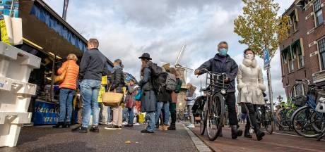 Frictie op de markt om coronaregels: 'Ik hou afstand, maar zij houdt daar geen rekening mee'