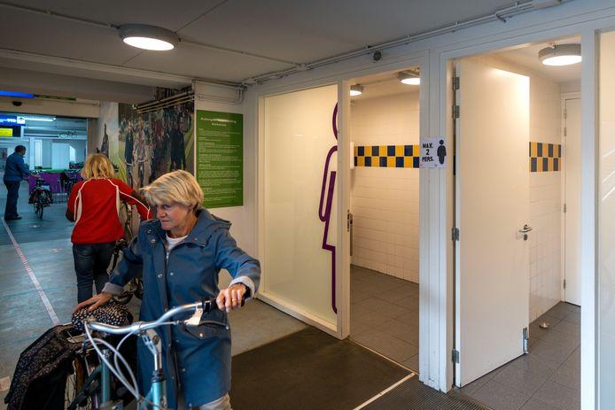 Den Bosch heeft al meerdere openbare toiletten, zoals deze in de fietsenstalling aan de Kerkstraat.
