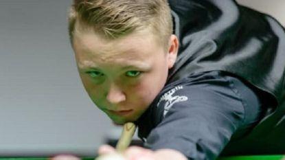 13-jarig Belgisch snookertalent wint opnieuw van prof