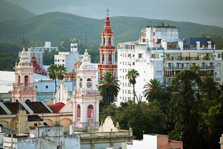Salta, volgens Lonely Planet een van de mooiste koloniale steden van Zuid-Amerika. Beeld Alamy Stock Photo
