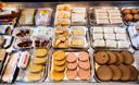 Vegetarische snacks in De Vegetarische Snackbar in Den Haag.