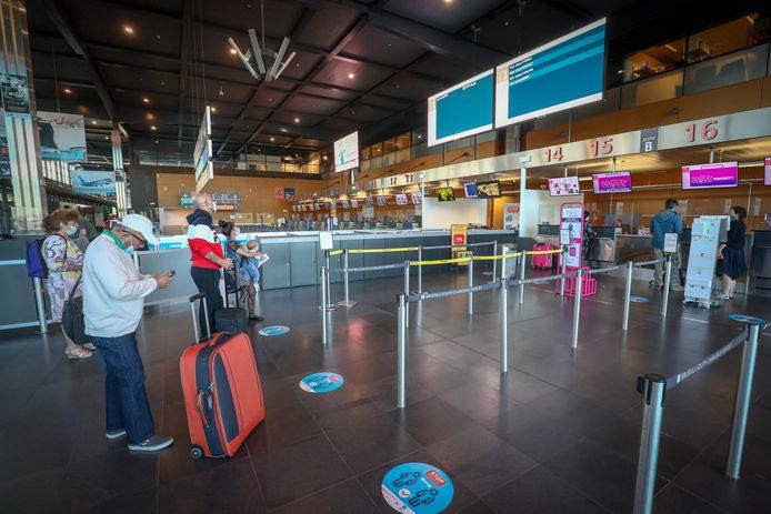 De luchthaven van Charleroi, archiefbeeld.