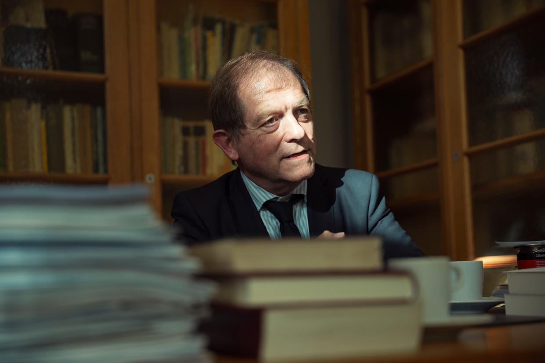 """Rik Torfs: """"De universiteit beschermt vooral haar reputatie als instelling en hecht te weinig waarde aan haar morele taak."""" Beeld Jef Boes"""
