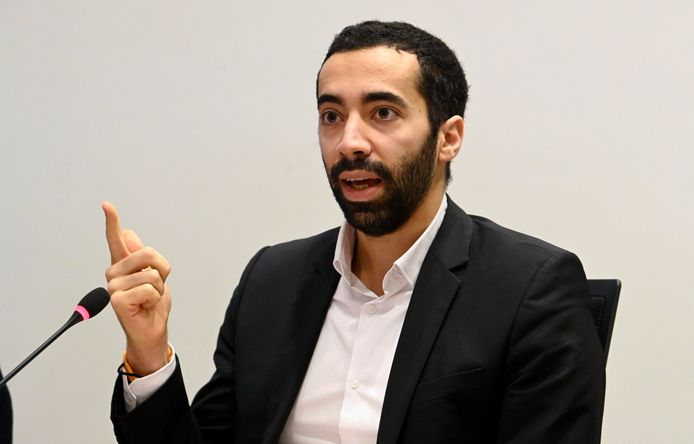 Sammy Mahdi, secrétaire d'État à l'Asile et la Migration (CD&V).