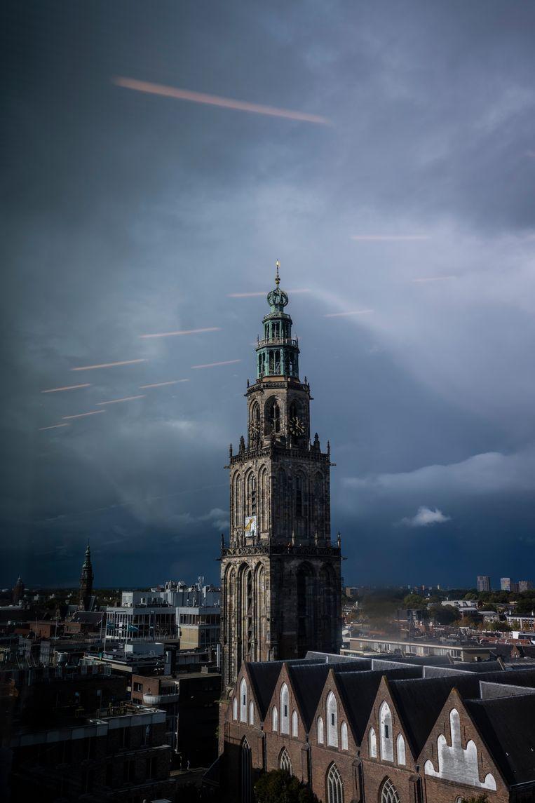 De Martinitoren in Groningen. Beeld Kees van de Veen