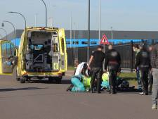 Motorrijder ten val in Waalwijk, slachtoffer gewond naar ziekenhuis