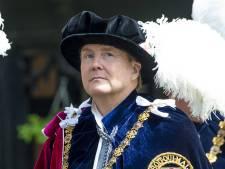 Koning Willem-Alexander geïnstalleerd in Orde van de Kousenband
