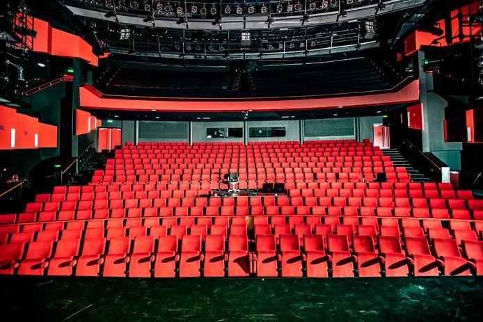 Voorlopig is er niets te doen in de Deventer Schouwburg door de coronacrisis. Het rapport met het financiële doorkijkje naar de toekomst van het theater is net voor het uitbreken van de crisis afgerond.