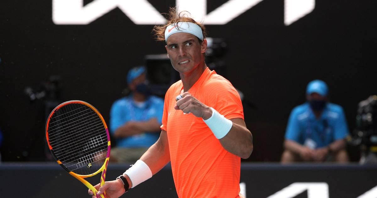 Steeds fittere Nadal zonder setverlies naar kwartfinale in Melbourne - AD.nl