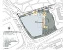 Het plan voor de IJzeren Man in  Eindhoven, een afbeelding uit het nieuwe bestemmingsplan van de gemeente Eindhoven.