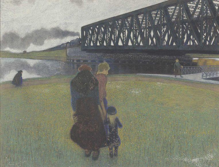 Léon Spilliaert, 'Lente' (1911). Beeld KMSKB foto: J. Geleyns - Art Photography