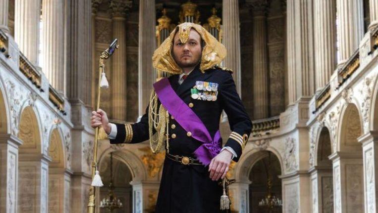 'Farao der Nederlanden Arjen Henrik I' Beeld Facebook