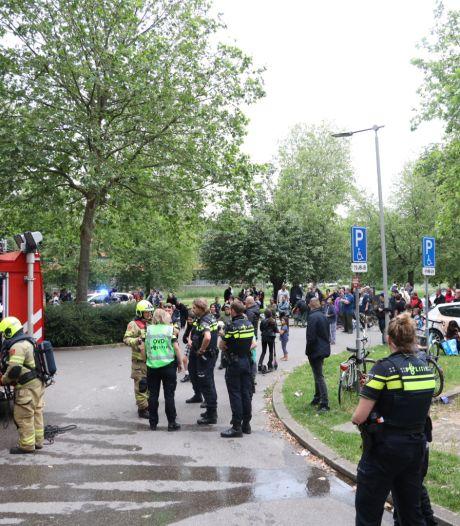 Arnhemse flat met honderden bewoners ontruimd na brandmelding, brandweer kon niets vinden