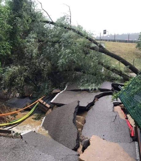 Les inondations occasionnent d'importants dégâts au circuit de Spa-Francorchamps