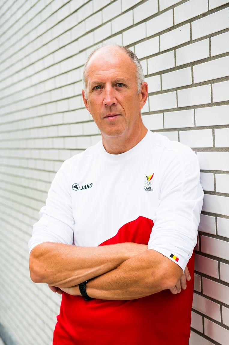 Trainer Ronald Gaastra. Beeld BELGA