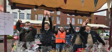 'n Tikkie Anders organiseert drive-thru braderie in Sleeuwijk