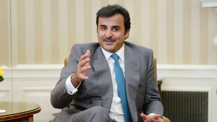 Tamim bin Hamad al-Thani. Beeld PHOTO_NEWS