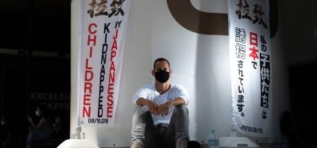 Franse expat in hongerstaking bij Olympisch Stadion in Tokio voor 'door ex ontvoerde kinderen'