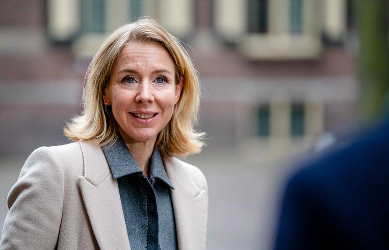 Staatssecretaris Stientje van Veldhoven van Infrastructuur en Waterstaat (D66).  Beeld ANP