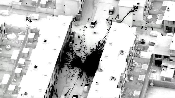 Vuurwerkbom in Den Haag.