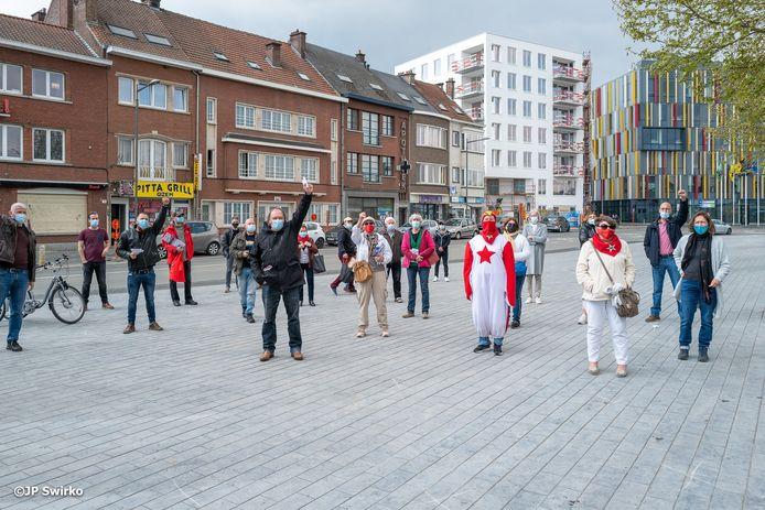 1 mei in Aalst