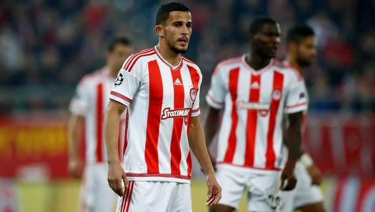 Olympiakos-speler Omar Elabdellaoui Beeld PHOTO_NEWS