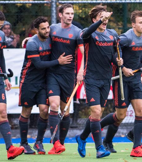 Hockeyers verslaan België in aanloop naar WK