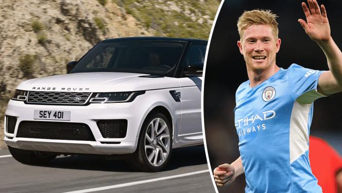 Van vuurrode Mercedes tot stoere Range Rover: dit is de autocollectie van Kevin De Bruyne
