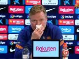 """""""Qué puta!"""" Barça-coach Koeman verlaat weer persconferentie met bloedneus"""