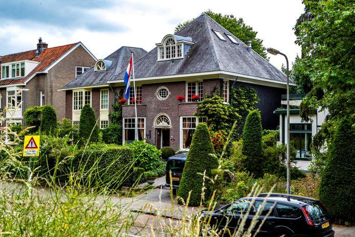 Deventer Boutique Bed & Breakfast Huize De Worp van de buitenkant gezien.