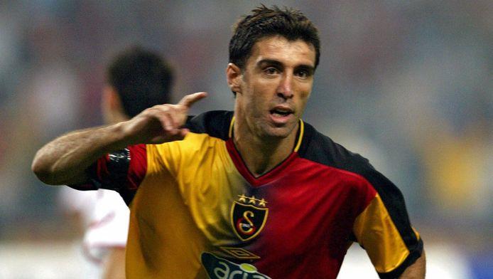 Hakan Sukur sous les couleurs du Galatasaray (2003)