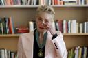 L'émotion de Sharon Stone, Commandeur de l'Ordre des Arts et Lettres