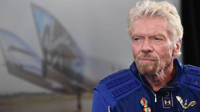 Miljardair Branson verkoopt deel van aandelen ruimtevaartbedrijf om zakenimperium overeind te houden