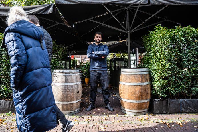 Zaf Göbel van ZafVino in Arnhem ontplofte deze week tijdens de persconferentie van premier Rutte.