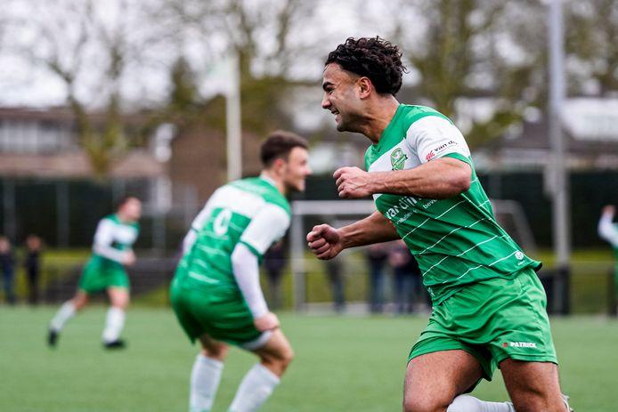 Moustafa Mohammad scoorde drie doelpunten, maar zag zijn penalty op curieuze wijze afgekeurd worden. (archieffoto)