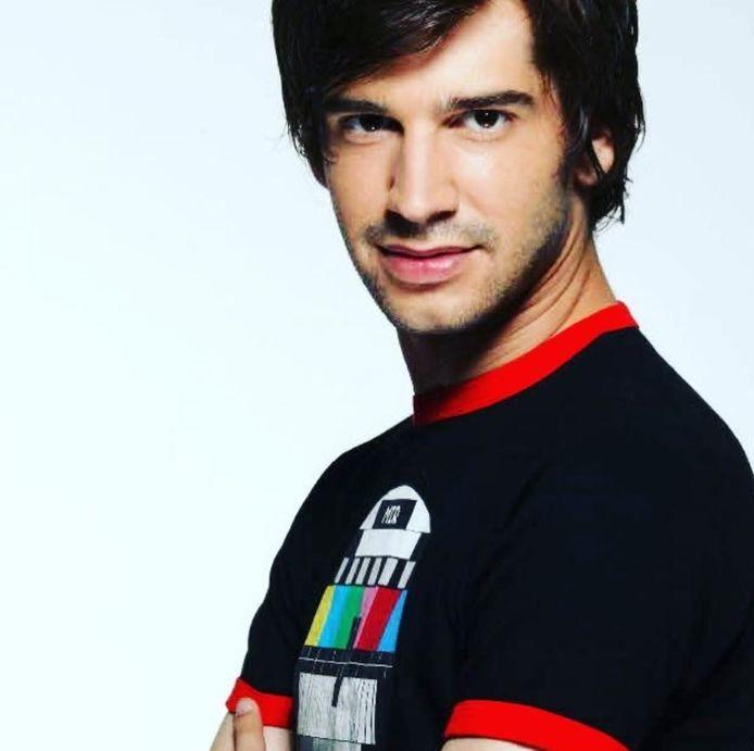 Mathieu Johann à l'époque de la Star Academy.
