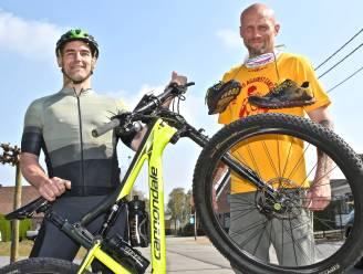"""Oostrozebeeks duo waagt zich aan 'Everesting' voor goede doel: """"Fiertelmeers ruim honderd keer beklimmen tot we 8.848 hoogtemeters hebben"""""""
