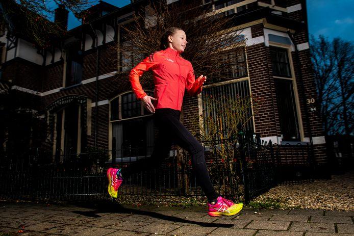 Atlete Tess van Randtwijk uit Apeldoorn.
