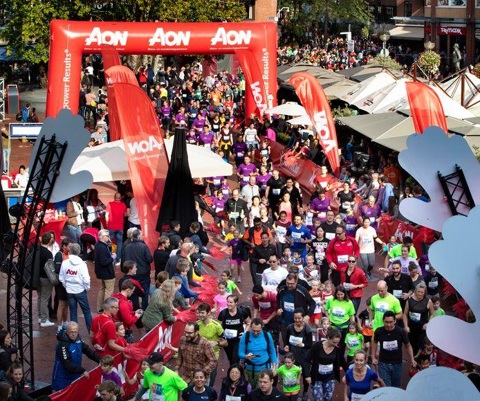 Mini Marathon Eindhoven in 2019.
