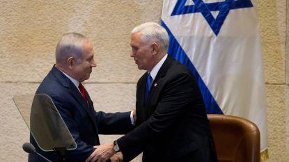 """Pence: """"Ambassade VS verhuist voor eind 2019 naar Jeruzalem"""""""