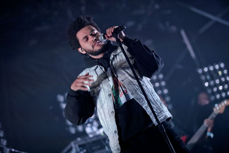 The Weeknd aka Abel Tesfaye Beeld Christie Goodwin/Getty