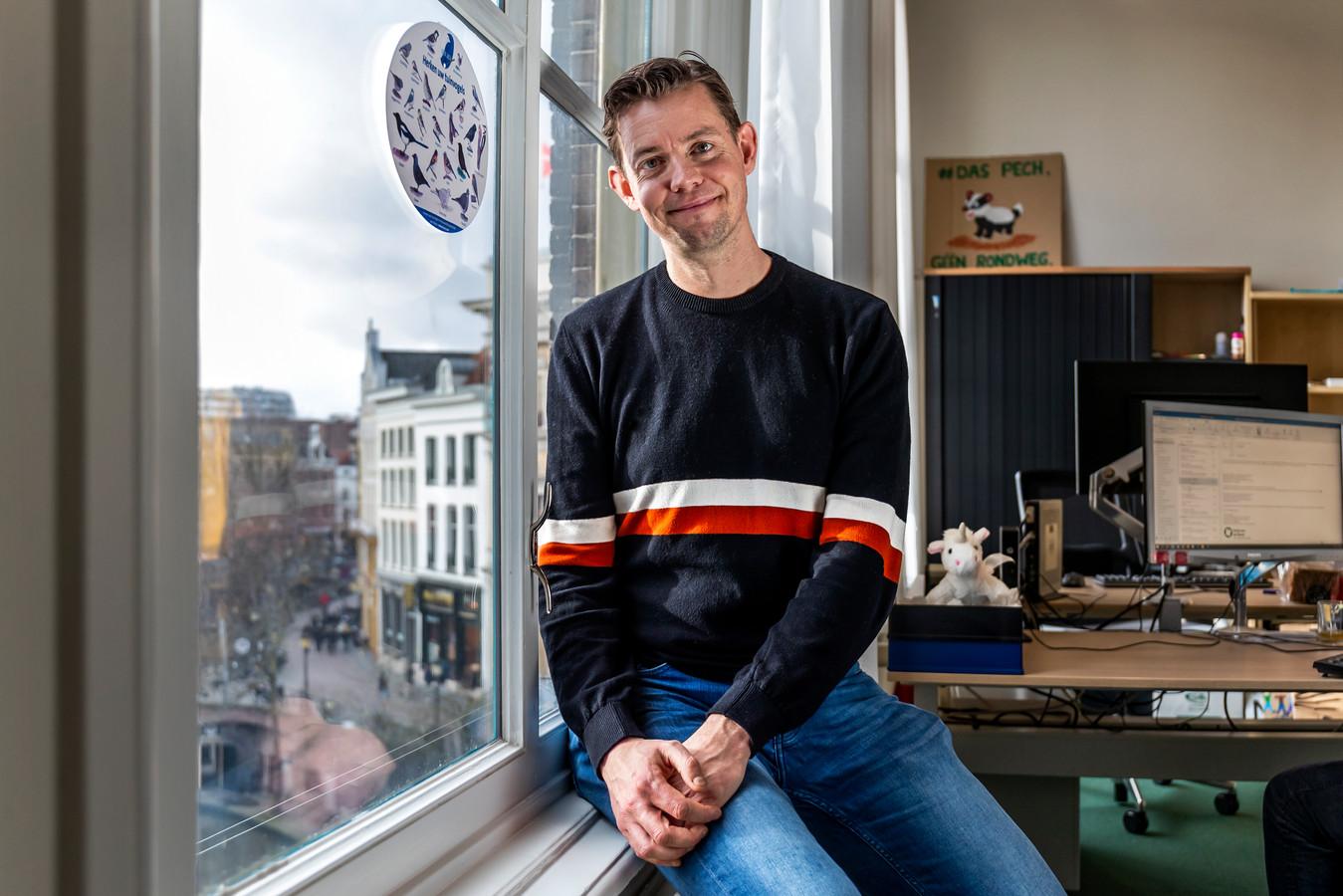 Maarten van Heuven van de Partij voor de Dieren in Utrecht.