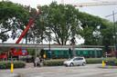 De treinwagon van De Houtloods