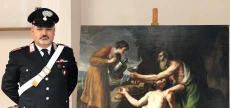 Door nazi's geroofd Frans schilderij ontdekt op kunstbeurs in Maastricht