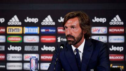 Andrea Pirlo volgt ontslagen Maurizio Sarri op als coach van Juventus