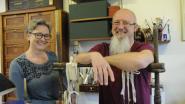 Ambachten: boekbinders Jan en Julia uit Diest