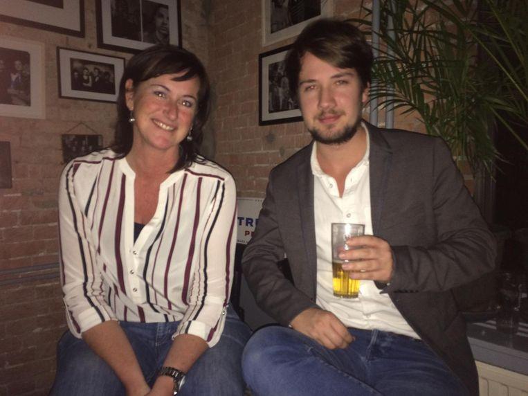 Miranda van der Meulen en Jeroen van Zanten Beeld Josien Wolthuizen